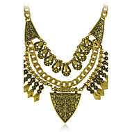 Women's Necklace of Boho Festival Vintage Silver  EthnicTurkish India Tribal Necklaces