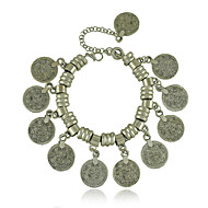 New Vintage Jewelry Antique Silver Coin Bracelet