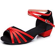 Sapatos de Dança ( Preto/Azul/Vermelho/Multi-Cor ) - Crianças - Não Personalizável - Latim/Salsa/Flamenco/Samba