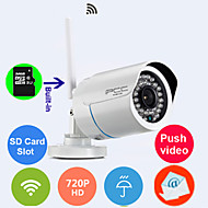 Built-in 8GB TF-card IP Camera 720p Wi-Fi Protected Setup Waterproof Day Night Wireless