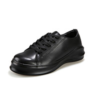 Women's Shoes  Low Heel Round Toe Fashion Sneakers Casual Black