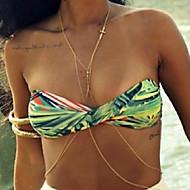 Dámské Tělové ozdoby Tělo Chain / Belly Chain Slitina Módní Cross Shape Barva obrazovky Šperky Ležérní