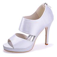 סנדלים - נשים - נעלי חתונה - פתוח - חתונה / מסיבה וערב - שחור / כחול / ורוד / סגול / אדום / שנהב / לבן / כסוף / שמפניה