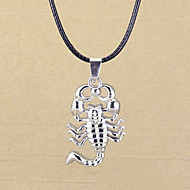 Men's Fashion Punk Style Scorpion Alloy Necklace Party/Causal