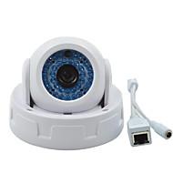 Dag Natt/Rörelsedetektor/Dual Stream/Fjärråtkomst/IR-cut - IP-kamera ) - till Inomhus - Dome