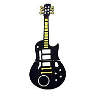 bonito guitarra preta estilo USB 2.0 Flash de 2GB de armazenamento pen drive pen memory stick