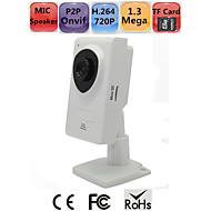 MINI HD IP Camera SD Card 1.3 Megapixels 720P H.264 P2P Onvif WIFI Remote Monitor