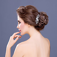 Women's Rhinestone / Alloy Headpiece-Wedding / Special Occasion / Casual Hair Combs 1 Piece