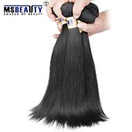 """3 pièces / lot 8 """"-30"""" 6a extensions brésiliennes de cheveux droites vierges cheveux 100% vierge non traitée tisse"""
