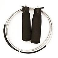 חבל קפיצה / חבל דילוג התעמלות וכושר / חדר כושר יוניסקס מתכת / פוליאסטר / PVC