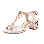 Women's Shoes  Stiletto Heel Gladiator Sandals Office & Career/Dress Yellow/Pink/White