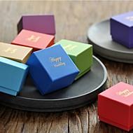 Geschenk Schachteln ( Orange/Himmelblau/Gold/Fuchsia/Dunkelgrün/Dunkelmarinenblau/Lila/Grün/Rot/Blau , Kartonpapier ) -Nicht