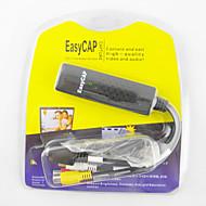 usb 2.0 EasyCAP DC60 tv video-capture adapter EasyCAP card audio av snelle usb video Graber dvr