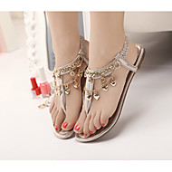 Women's Shoes  Flat Heel Gladiator Sandals Casual Black/Gold