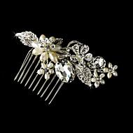 Dame Blomsterpige Sterling Sølv Legering Medaljon-Bryllup Speciel Lejlighed Hårkamme