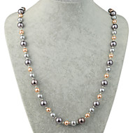 Z&X® Fashion Pearl Strands Necklaces Daily/Casual 1pc