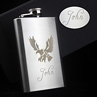 Personalized Stainless Steel Hip Flasks 5-oz Eagle Flask