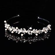 Mujer / Niña de flor Plata esterlina / Aleación Celada-Boda / Ocasión especial Bandas de cabeza / Flores / Coronas 1 Pieza Plata Irregular