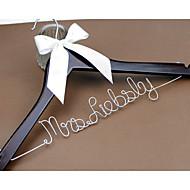 Bruiloft/Gefeliciteerd/Bedankt - Haar/Bruid/Bruidsmeisje/Bloemenmeisje/Echtpaar - Creatief geschenk - Wit/Koffiebruin
