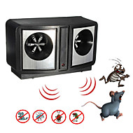 Electronic Ultrasonic Pest Repeller Dual Sonic Mice Rat Rodent Control Mosquito Cockroach Bug (AC 220V)