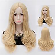 bionde Harajuku parrucche cosplay calore capelli dell'onda resistente parrucca sintetica