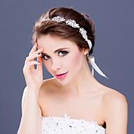 Copricapo Donne Tiare/Fasce Matrimonio/Occasioni speciali Strass/Lega Matrimonio/Occasioni speciali 1 pezzo