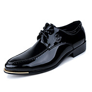 Men's Shoes Office & Career/Party & Evening/Casual Fashion Patent Leather Oxfords Shoes Black//Purple 38-43