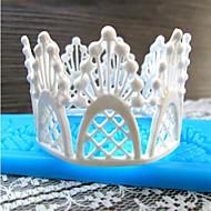 květina krajky ve tvaru fondant dort čokoládový silikonová forma / dekorace nástroje pro kuchyně