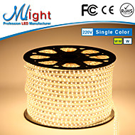 Mlight 10 Meter 72 leds/m 5050 SMD Warm White/White Waterproof/Cuttable 9 W Flexible LED Light Strips AC110-220 V