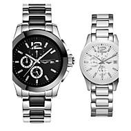 GUANQIN® High-end Luxury Automatic Self-winding Couple Watch Ceramic Waterproof Calendar Women Men Sport Wristwatch Cool Watcheses With Watch Box
