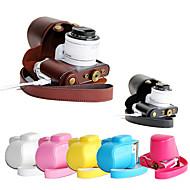 coprire pelle dengpin PU Bag cassa della macchina fotografica con tracolla staccabile per Samsung NX3000 nx3300 (colori assortiti)