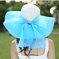 Women Casual Summer Linen/Straw Floppy Sun Hat