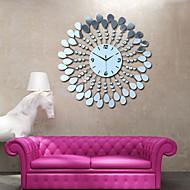 moderne stijl bloem ps spiegel wandklok