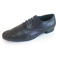 Customized Men's Ballroom Shoes Leather Upper Latin Dance Shoes for Man
