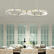 Pendant Light ,  Modern/Contemporary Chrome Feature for Crystal LED Metal Bedroom Dining Room Study Room/Office