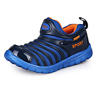 Boys' Shoes Athletic / Dress / Casual PVC / Fabric Boots / Fashion Sneakers / Loafers Blue / Purple / Royal Blue