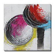 Abstract Stretched Canvas Print with Hand Touch Gallery Wrap Ready to Hang