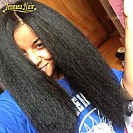 mayor venta pelucas baratas virginales brasileñas rizadas rectas del pelo humano completo de encaje&pelucas delanteras del cordón