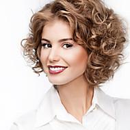 """10 """"-26"""" 100% del pelo humano del pelo recto completos pelucas del cordón de las pelucas del cordón del pelo ondulado"""