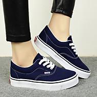 Chaussures Femme - Décontracté - Noir / Bleu / Vert / Violet / Rouge / Marine - Talon Plat - Confort / Bout Arrondi -Plates / Baskets à