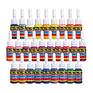 Solong Tattoo Ink 28 Colors Set 5ml/Bottle Tattoo Pigment Kit
