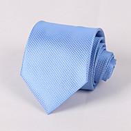 Mřížka - Kravaty (Světle modrá , Polyester)