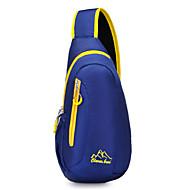 Mulher Bolsas Todas as Estações Fibra Sintética Sling sacos de ombro com para Esportes Preto Azul Vermelho Escuro
