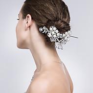 Celada Palillo del pelo Boda/Ocasión especial/Casual Aleación Mujer Boda/Ocasión especial/Casual 2 Piezas