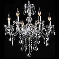 3W Chandelier ,  Traditional/Classic / Vintage Electroplated Feature for Crystal CrystalLiving Room / Bedroom / Dining Room / Kitchen /