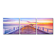 VISUAL STAR®Digital Print Natural Landscape Stretched Canvas Art In High Quality