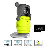 Besteye® 32GB TF Card and Cute Wireless WIFI Camera with IR Night Vision IP Surveillance Wireless Camera