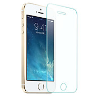 protetor de tela de vidro temperado hzbyc® anti-risco ultra-fino para iphone 5 / 5s / 5e / SE