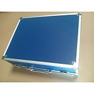 1pcs bleu petite boîte en aluminium de tatouage basekey