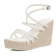 Women's Shoes Wedge Heel Wedges Sandals Casual White